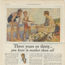 Image of Cocomalt ad in Ladies' Home Journal, August, 1928