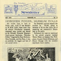 Image of Hoboken Historical Museum Newsletter [First Series], Volume 2, No. 38, May, 1990 - Periodical