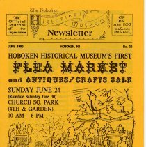 Image of Hoboken Historical Museum Newsletter [First Series], Volume 2, No. 39, June, 1990 - Periodical
