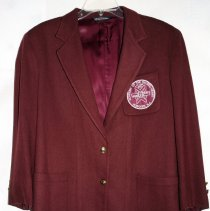 Image of School uniform coat from Sacred Heart Academy, 713 Washington St., Hoboken. N.d., est. 1960 to 2006 (school ceased operations.)  - Jacket