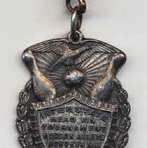 Image of fob medal, front