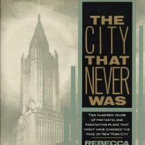 Image of The City That Never Was. - Book