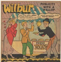 Image of reverse: Wilbur in Publicity with a Wallop