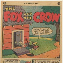 Image of reverse: The Fox and the Crow