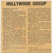 Image of reverse: Hollywood Gossip