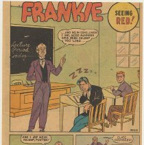 Image of reverse: Frankie, Seeing Red!