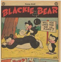 Image of reverse: Blackie Bear