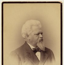 Image of Cabinet photo of unidentified man, Hoboken, no date, ca. 1880-1890.  - Photograph, Cabinet