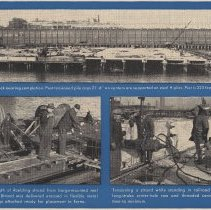 Image of detail of photos: Pier A construction 1956