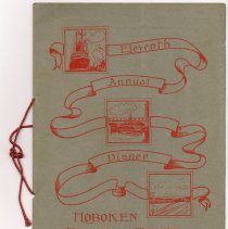 Image of Program: Eleventh Annual Dinner, Hoboken Board of Trade. German Club. Apr. 15, 1915. - Program