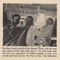 Image of detail photo lower right of New Jersey portal of Lincoln Tunnel