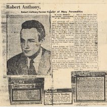 Image of 10: press clippings, side 2, 4 clippings no date