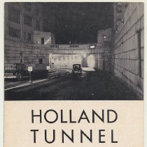 Image of Brochure: Portrait of a New Tunnel. Midtown Hudson Tunnel .. To Be Placed in Operation ... in 1938. Port Authority; issued 1936. - Pamphlet