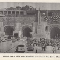 Image of pg 40 photo Lincoln Tunnel Third Tube Dedication Ceremony on NJ Plaza