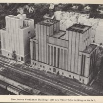 Image of pg 77 NJ Ventilation Buildings with new Third Tube building on the left.