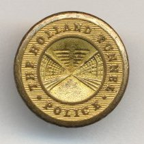 Image of Button, coat sleeve: The Holland Tunnel Police. No date, circa 1930-1940.  - Button, Law Enforcement