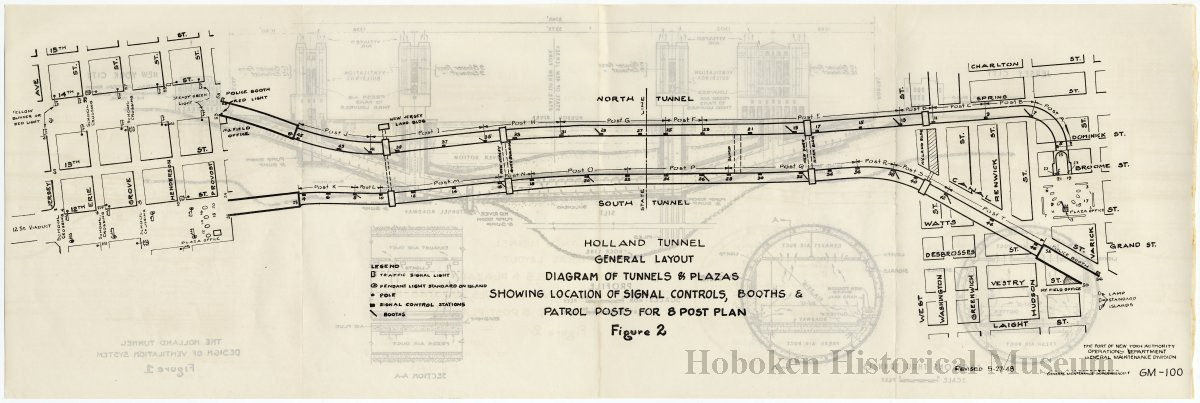 Map Of The Holland Tunnel I Wiring Diagram