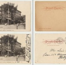 Image of Postcard: 6201 - Meyer's Hotel, Hoboken, N.J. No date, circa 1901-1907; unposted. - Postcard