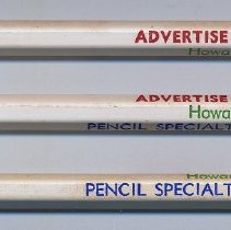 Image of Pencil: Pencil Specialty Co., Hoboken, N.J. N.d., ca. 1960-1970. - Pencil