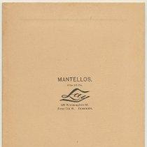 Image of reverse: Lay imprint Hoboken address; Mantellos