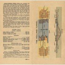 Image of unfolded: outside, from left, pp. 6-[8] + pg [1] cover