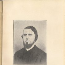 Image of plate facing pg 8: The Rev. John Wm. Clark, 1855 - 1856.
