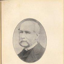 Image of plate facing pg 12: The Rev. N. Sayre Harris, 1856 - 1865.
