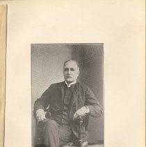 Image of plate facing pg 20: The Rev. Reuben Wing Howes, D.D., 1866 - 1874.