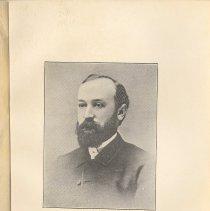 Image of plate facing pg 24: The Rev. Telfair Hodgson, D.D., 1874 - 1878.