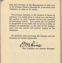 Image of pg 30 [end]: facsimile signature - E.M. Rine, Vice President & G.M.