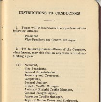Image of pg 3 (page [2] blank): Instructions to Conductors