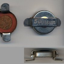 Image of Bottle stopper manufactured by Seal-Again Products Co., Hoboken. N.d., ca. 1919-1924. - Stopper, Bottle