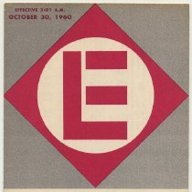 Image of Timetable: Erie-Lackawanna RR, long distance routes, NY ... Buffalo ... Chicago. Eff. Oct. 30, 1960. - Timetable
