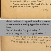Image of detail pg 48 showing different type sizes and settings