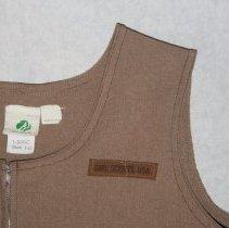 Image of detail upper left shoulder
