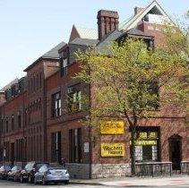 Image of 090 north (Newark St.) + west facades (River Street) Hoboken Land Building