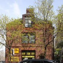 Image of 089 west facade (River Street) of Hoboken Land Building, 1 Newark St.