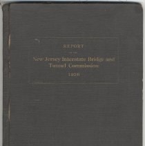 Image of Report of the New Jersey Interstate Bridge & Tunnel Commission to the Senate & General Assembly of the State of N.J. Jan. 2, 1926.