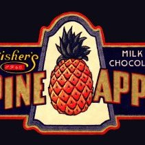 Image of 5: Pine Apps, Milk Chocolate, profiled label