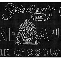 Image of 6: tracing of silkscreen for Pine Apps Milk Chocolate