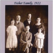 Image of B+W photo of the [Sol] Fisher Family [S. Fisher & Co., Hoboken], 1922. - Photograph