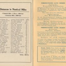 Image of pg [24] + inside back cover: Distances in Nautical Miles; Railroad Tickets