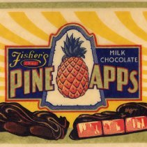 Image of detail a: Fisher's Pine Apps Milk Chocolate