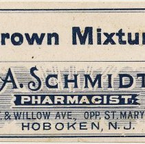 Image of A. Schmidt label 4: Brown Mixture