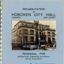 Image of pg [1]: front cover; color photographic print of Hoboken City Hall