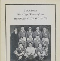 Image of pg [3] Hoboken Fussball Klub, team photo with names