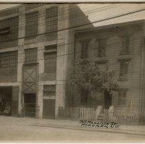 Image of Sepia-tone photo 93 Harrison Street, Hoboken, n.d., ca. 1926-1932 - Print, Photographic