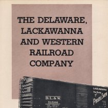 Image of Report, 1947: Annual Report of the Delaware, Lackawanna & Western Railroad, for the year ended Dec. 31, 1947.  - Report, Annual