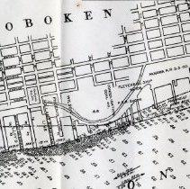 Image of sheet 1 of 2: detail Hoboken