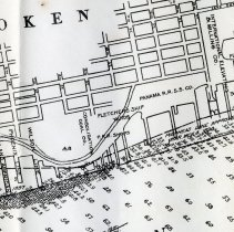 Image of sheet 1 of 2: closer detail Hoboken, from south 2 of 3
